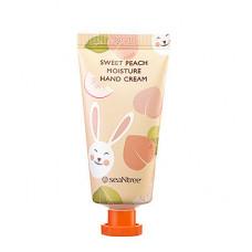 Увлажняющий крем для рук с ароматом сладкого персика SeaNtree Sweet Peach Moisture Hand Cream
