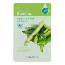 The face shop Маска для лица с экстрактом бамбука Real Nature Bamboo Face Mask