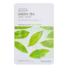 The face shop Маска для лица с экстрактом зеленого чая Real Nature Green Tea Face Mask