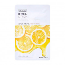 The face shop Маска для лица с экстрактом лимона Real Nature Lemon Face Mask
