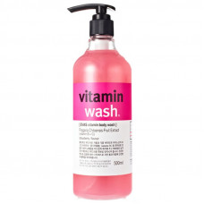 Гель для душа Клубника Evas Vitamin Wash Strawberry
